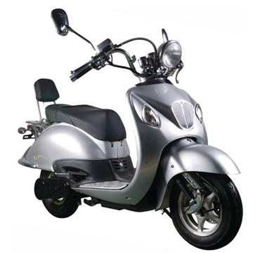 Electric MotorScooter Silver