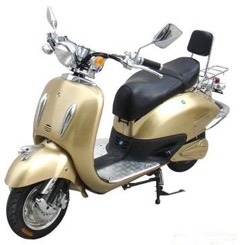 Electric MotorScooter Gold